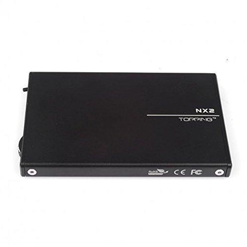Topping Auricolare Amplificatore Portatile Nero (NX2)