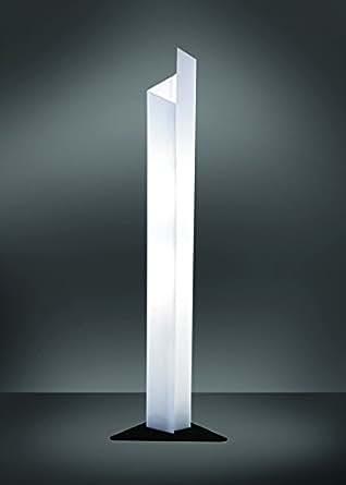 Eva piantana lampada da terra in plexiglass angolare for Piantana a led