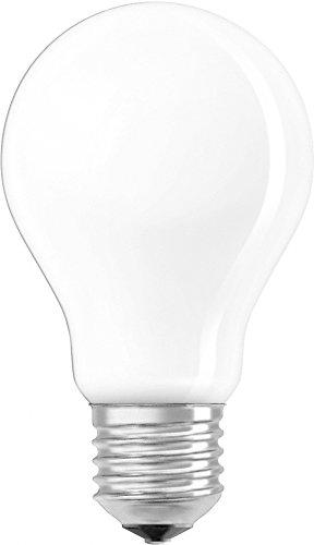 OSRAM Ampoule LED à Filament Dépolie | Culot E27 | Forme Standard | Blanc Chaud 2700K | 8W (équivalent 75W)