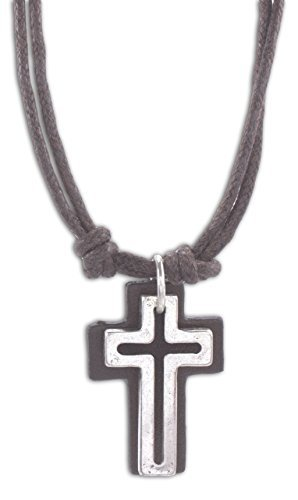 cruz-accessoires-open-croix-avec-cuir-back-on-double-406-cm-look-vintage-de-collier