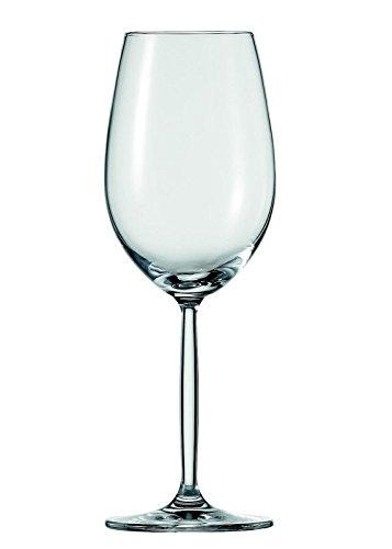 Schott Zwiesel Diva Weinkelch 2, 2er Set, im Geschenkkarton, Weißweinglas, Weinbecher, Glas, 300...