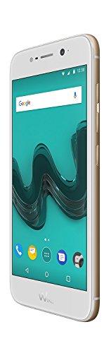 Wiko WIM lite Gold (Smartphone, 5 Zoll FHD, 13 MP Kamera, 16 MP Selfie-Kamera mit Blitz, Video Stabilisator, Android, Fingerabdruck, 32GB ROM/3GB RAM, Snapdragon Octa-Core CPU, 4G, Dual-SIM, Speicher erweiterbar um bis zu 128GB, Gold)