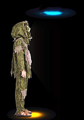 Junge Sumpf Monster Kleidung Halloween Kinderkleidung Cosplay Horror Maske - Kleidung,A Height 100CM