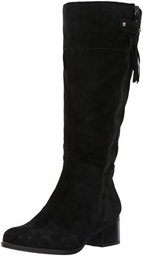 Naturalizer Frauen Weite Wadenoeffnung Pumps Rund Leder Fashion Stiefel Schwarz Groesse 6.5 US /37.5 EU - Naturalizer Wide Calf Boots