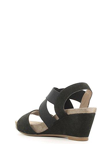 Mephisto Womens Barbara Elasticated Sandals Noir