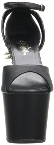FEARLESS-715 Blk Faux Leather/Blk Matte