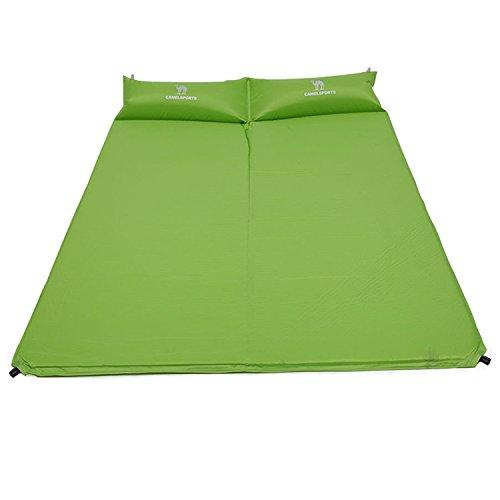 CAMEL Sleeping Mat, Selbstaufblasbare Isomatte, 2 Personen Luftmatratze Selbstfüllend, Fürs Zelten, Outdoor Liegematte Leicht und Wasserdicht