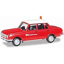 Wartburg 353 Limousine 1967 Feuerwehr Rot limitiert auf 504 Stück CCC 086 1//18..