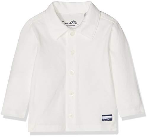 Sanetta Baby-Jungen Hemd Shirt Knitted Beige (Ivory 1829.0) 80