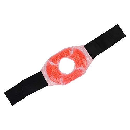 Gelkügelchen-Kniebandage, Knieeispackung für Verletzungen, wiederverwendbare Kniebandage mit Gelkügelchen, einfrierbar und mikrowellengeeignet, eine unverzichtbare professionelle Gelkügelchen-Eispacku -