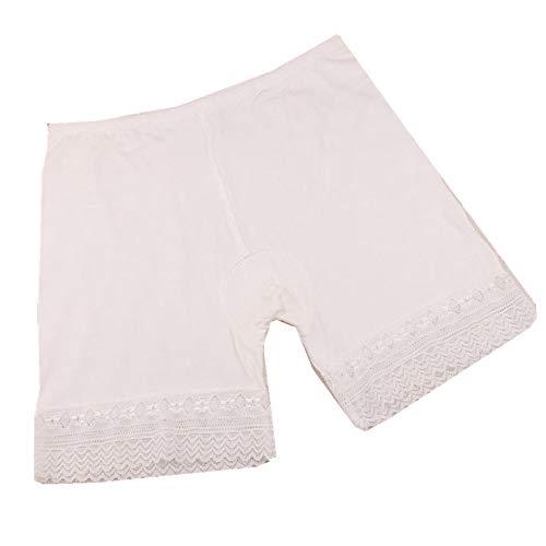 ITISME Jambières FemmesTaille Moyenne Dentelle Hot Shorts Pants Pantalons Élastique Grande Taille des Sports Pantalons Trunks Trousers (XXL, ZY-02)