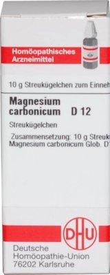 DHU Magnesium carbonicum D12, 10 g Globuli