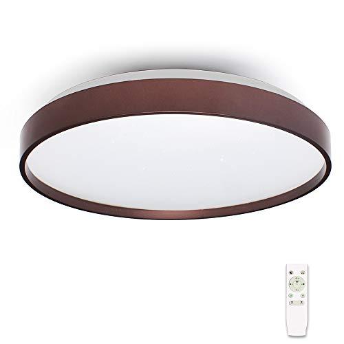 36W LED Sternenhimmel Deckenleuchte Musik Deckenlampe mit Bluetooth Lautsprecher [ Dual-Lautsprecher ] [APP mit Fernbedienung ] [ Ø40cm Dimmbar ], für Kinderzimmer Schlafzimmer Kinder Geschenk