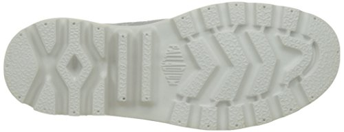 Palladium Damen Pampa Hi Lite Knit Hohe Sneaker Grau (Lily White/lily White L81)