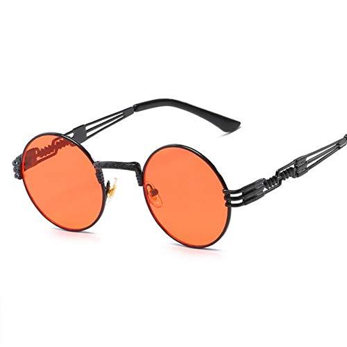 TIANKON Runde Sonnenbrille männer Metall Brille Frauen Sonnenbrille hochwertige uv400 Sonnenbrille,NO 2