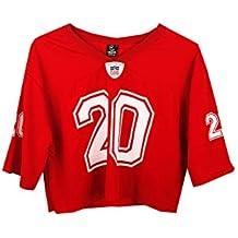 UISSOS Camiseta Futbol Americano Corta con Estampado Osaka número 20