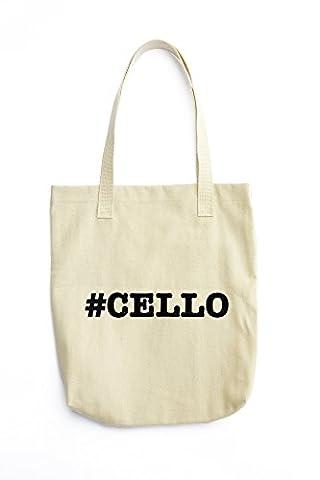 nicknames CELLO nickname Hashtag printed Tote