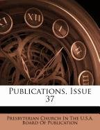Publications, Issue 37