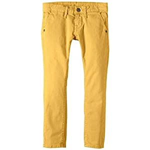 Pepe Jeans – Pantalón Largo New Barden, niño, Color: Mostaza
