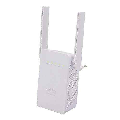 WWAVC WiFi Repeater Dual-Antenne Dual-Netzwerkanschluss 300 Mbps Wireless Repeater Router SignalverstäRker