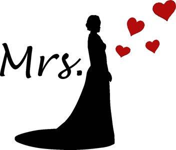 Mister Merchandise Ladies Damen Frauen T-Shirt Mrs - Braut Tee Mädchen bedruckt Royal