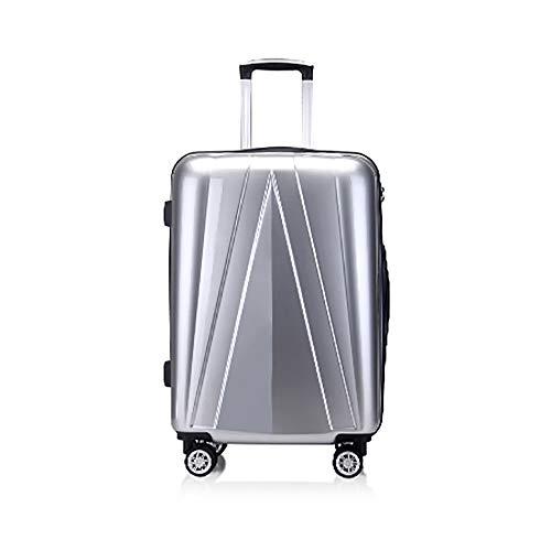 SHAN Bagaglio Trolley Universale Ruota Scatola di Spedizione dei Bagagli Imbarco Uomo Valigia 20 Pollici Scatola Dura Valigia Femminile