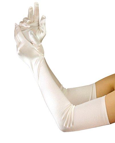 Efashionsquare Damen Elegante Lange Opera Handschuhe21216BL