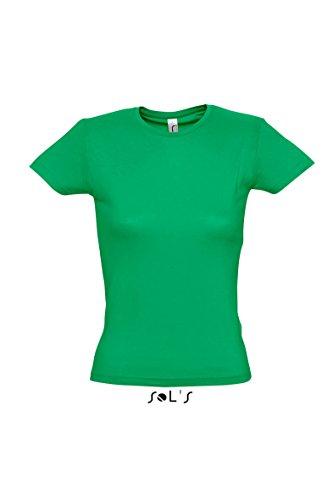 SOL'S -  T-shirt - Donna Verde - Kelly verde