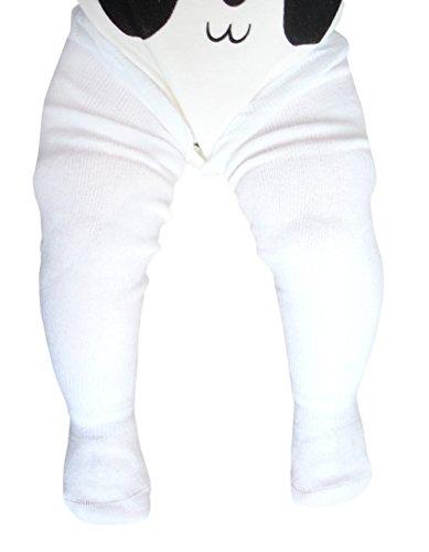 prima i clienti a poco prezzo orologio unisex calzini lunghi di cotone sopra il ginocchio senza cuciture punta per  i bambini, 3 paia/ rosa giallo beige, 1-3 anni