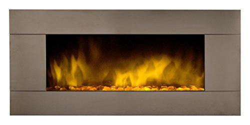 Preisvergleich Produktbild Chemin 'Arte 086Kamin Pure Edelstahl XXL Color Style Stahl Silber