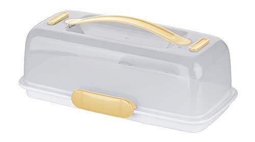 Tescoma 630844 delicia porta torte con tavoletta refrigerante, 36x18 cm