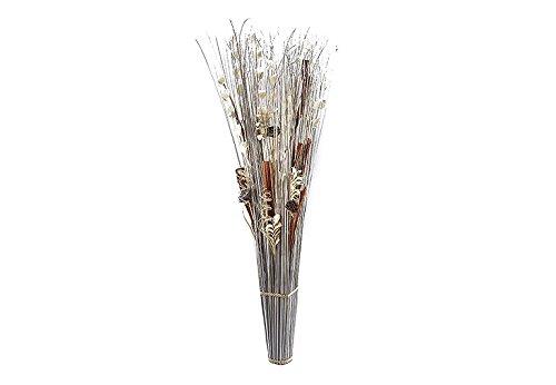 Kobolo XXL Dekobündel 150 cm weiß braun