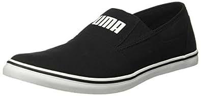 Puma Men's Black White Sneakers-6 UK/India (39 EU) (4060978759641)