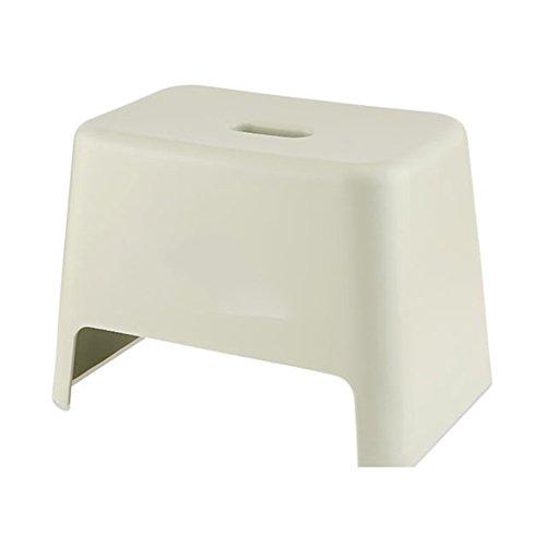 LXLA- Kind-Schritt-Schemel-Kinderplastik Footstool Verdicken Rutschfester Bad-Schemel-Änderungs-Schuh-Bank Für Haus, Kindergarten, Badezimmer (Farbe : Light Green)
