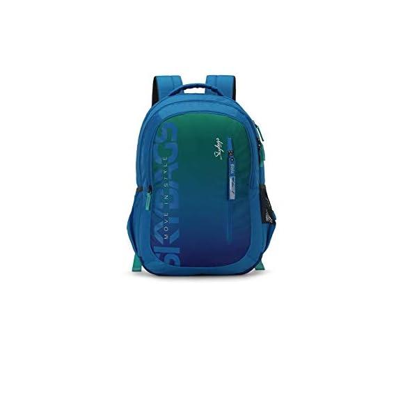 Skybags Figo Plus 02 34 Ltrs Gradient Blue Casual Backpack (FIGO Plus 02)