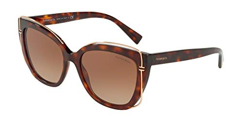 Tiffany Sonnenbrillen T TF 4148 HAVANA/LIGHT BROWN SHADED Damenbrillen