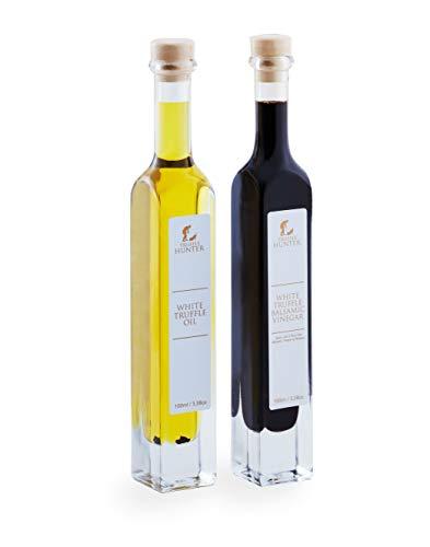 TruffleHunter Weißer Trüffel Öl und Balsamico-Essig-Set