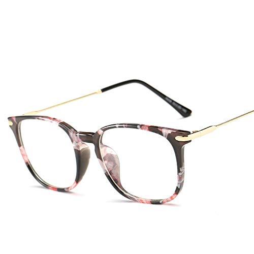 GPZFLGYN Anti-Blau Computer Gläser Anti-Fatigue Anti Blue Ray Brillen Übergroße Optische Myopie Brillen Titan Rahmen Schwarz Computer Brillengestell Für Frauen Männer