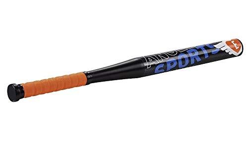Unbekannt baseballschläger Kunststoff schwarz/orange 46 cm