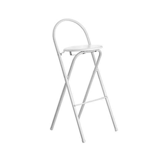 Tabouret De Bar Contre-chaises Pliant Antidérapant Pour Accueil Cuisine Café Bar (Couleur : Brown)