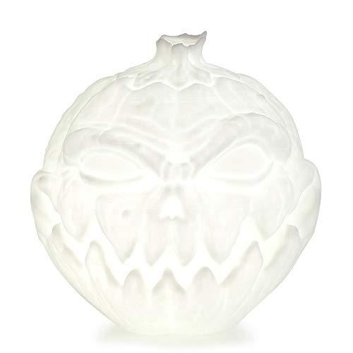 (3D Druck Nachtlampe Nachtlicht Teufel Kürbis Lampe 3 Modi USB Charging Halloween Geschenk für Kinder Familie Freund oder Zimmerdekorative (3 Farbe, 10CM))