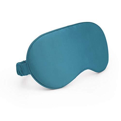 Eyeshade Schlafmaske, Augenmaske, Plissee St02, Satin, Seide, doppelseitige Verdunkelungsbrille, Kosmetik, Mode für Frauen -