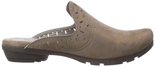 Marc Shoes - 1.624.26-21/260-zarah, Sabot Donna Grigio (Grau (taupe 260))