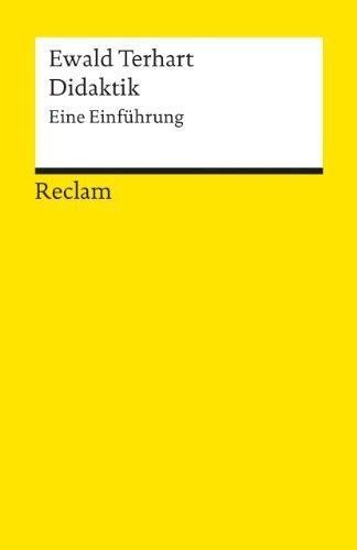 Didaktik: Eine Einf?hrung by Ewald Terhart(2009-02-01)