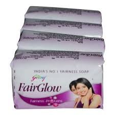 Godrej Fair Glow Soap, 75g (Pack of 4)