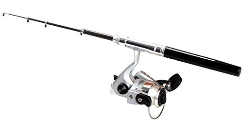 SaySure - Compact Telescopic Fishing Rod Pole Reel Pocket