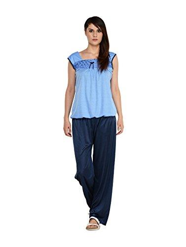 Klamotten Blue Cotton Nightsuit XX82