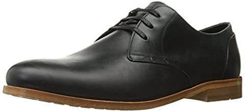 1883 by Wolverine Men's Angelo Oxford, Black Leather, 9 M US