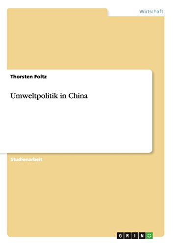 Umweltpolitik in China