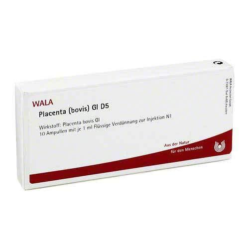 Placenta Bovis Gl D 5 Amp 10X1 ml